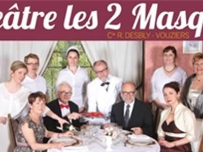 """Anniversaire de la troupe """"Les Deux Masques"""""""