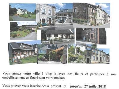 Participation à l'embellisement de la ville de Monthermé
