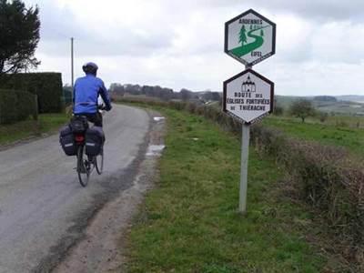 Circuit cyclotourisme en Thiérache