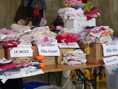 Bourse aux vêtements enfants et jouets