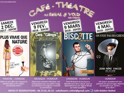 """Café théâtre """"On n'est pas des chiens"""""""