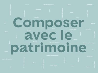 """Exposition """"Composer avec le patrimoine"""""""