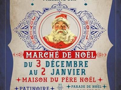 Marché de Noël place Ducale