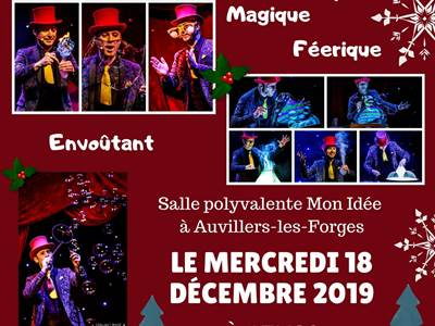 """Spectacle de Noël - """"Le Cabaret des Bulles"""""""