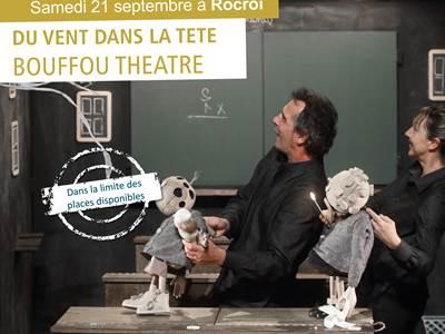 Du vent dans la tête Spectacle Bouffon Théâtre
