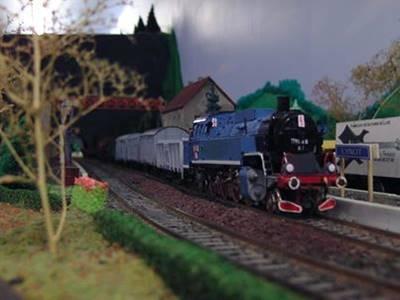 Exposition Train Miniature Givetois
