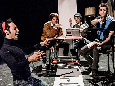 Théâtre/Théâtre d'objets : Camarades