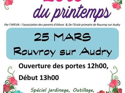 Loto du printemps - Rouvroy sur Audry