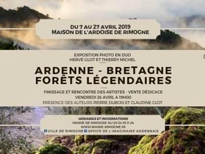 Ardennes Bretagne forêt légendaire