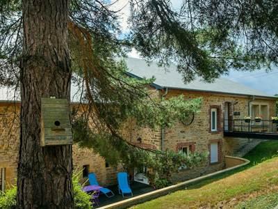 Chambres d'hôtes dans un ancien moulin, étang de 75 ares, pêche