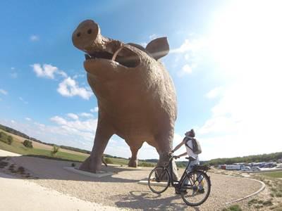 Séjour à vélo dans les Crêtes