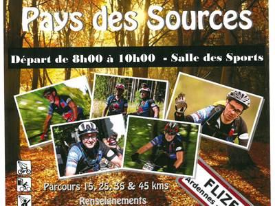 Randonnée du Pays des Sources Raid Ardennes VTT