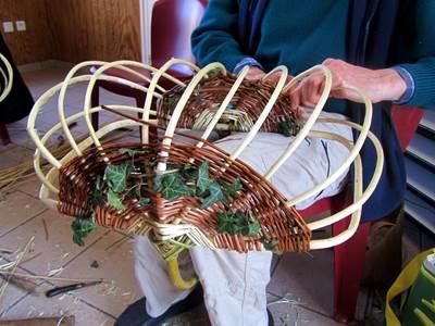 Plantes et Savoirs en Ardennes : ateliers vannerie