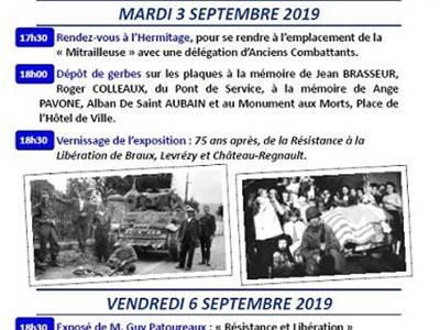 75ème anniversaire de la libération de la ville