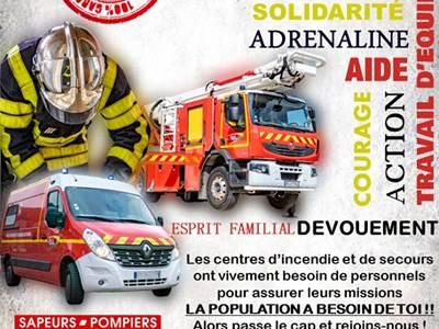 100e congrès départemental de l'union départementale des sapeurs pompiers
