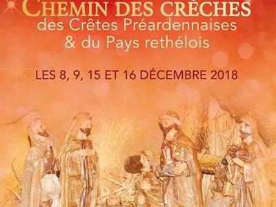Noël d'Ardennes 2018, Chemin des Crèches à Boulzicourt