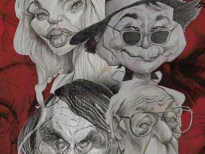 Exposition : caricatures de Lorenzzo