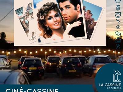 "CINÉ-CASSINE - Drive in ""Carte Grease"""