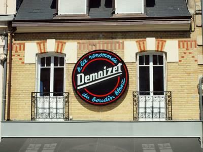 """Charcuterie Demoizet """"A la renommée du boudin blanc"""""""