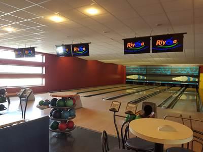 Bowling du centre aqualudique Rivéa