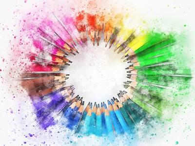 """Exposition """"La balade des couleurs"""""""