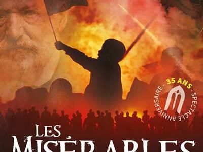 """Spectacle son et lumières La Cassine : """"Les Misérables"""""""