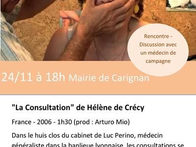 Le mois du film documentaire 18eme édition à Carignan