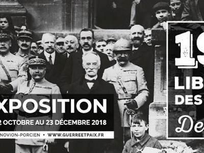 Exposition destins liés, La Libération des Ardennes en 1918