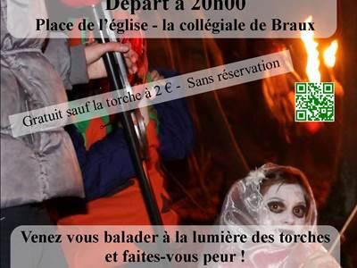 "Rando-contée ""Fête d'Halloween"""