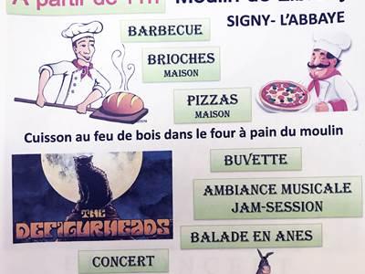Journée détente et concert au Moulin de Librecy