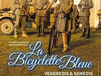 Spectacle son et lumière La Cassine : La bicyclette bleue
