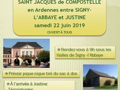 Journée sur le chemin de St Jacques de Compostelle