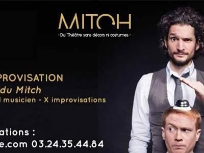 Spectacle 100% impro avec Le Mitch à La Cassine