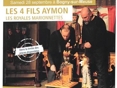 Les 4 fils Aymon : Les Royales marionnettes