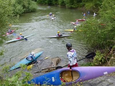 Initiation au canoe kayak