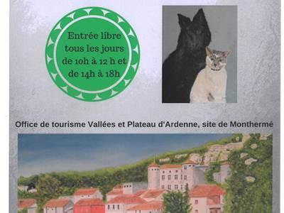 """Exposition de peintures de l'association """"Les Tétras"""""""