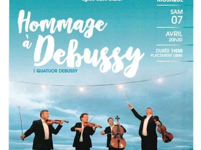 Concert du Quatuor Debussy