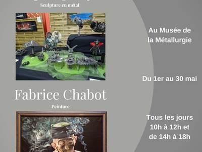Exposition Sophie Jowyk et Fabrice Chabot au Musée de la Métallurgie