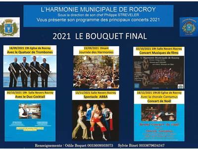 Concerts de l'Harmonie Municipale de Rocroy