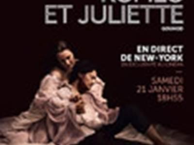 Opéra et Ballet au cinéma : Roméo et Juliette