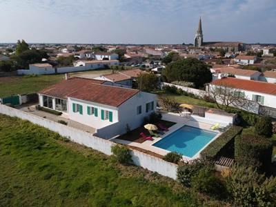 Villa ses Jaulaines, villa en bord de mer - Île de Ré