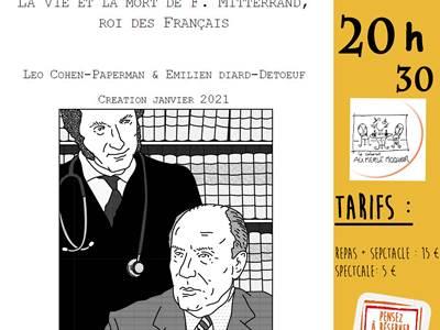 La vie et la mort de F. Mitterand, roi des français