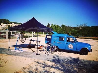 La machine à pédales - Réparation de vélos