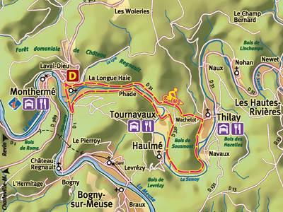 Balade à vélo: En suivant la voie touristique trans-semoysienne