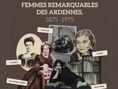 Exposition Portraits de femmes remarquables des Ardennes