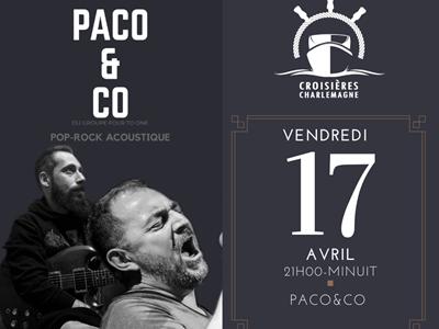 Soirée concert avec Paco&co