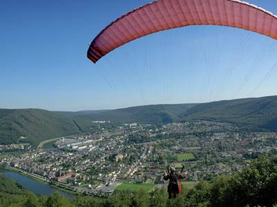 Point de vue du parapente