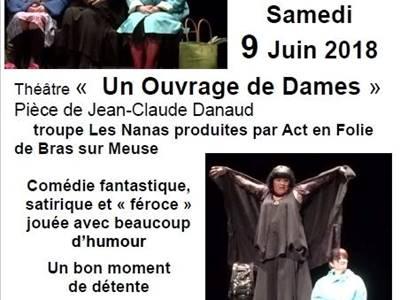 """Théâtre """"Un Ouvrage de Dames"""""""