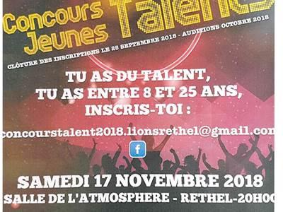 2e soirée des jeunes talents