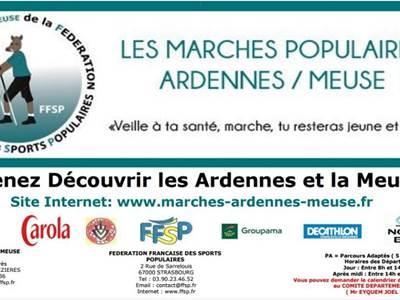 Marche populaire Ardennes/Meuse : La Francheville